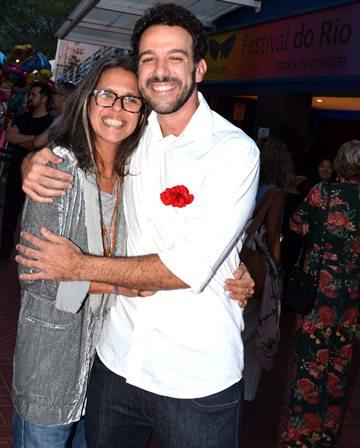 Gilda Midani e Marcio Debellian