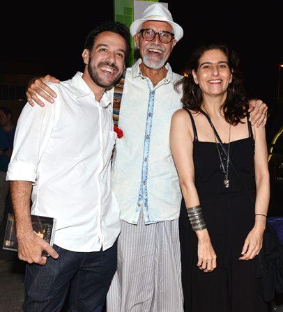 Marcio Debellian , Pai Luiz Martins e Bia aiado