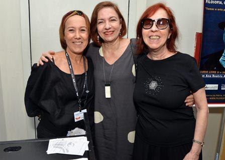 Christina Camargos , Laís Chamma e Gláucia Camargos