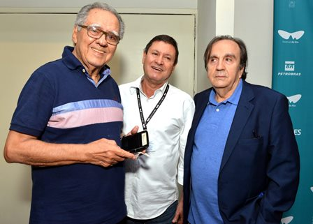 Luiz Carlos Barreto , Wilson Feitosa e Paulo Thiago