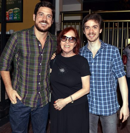 Marcos Pigossi  , Gláucia Camargos e Paulo Francisco Paes