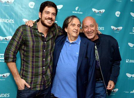 Marco Pigossi  ,  Paulo Thiago e Guti Fraga