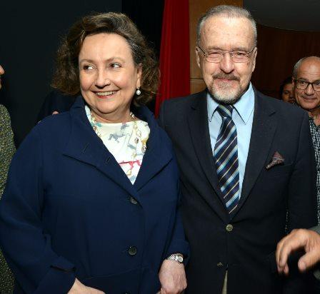 Dra. Margareth Dalcolmo e Ricardo Cravo Albin