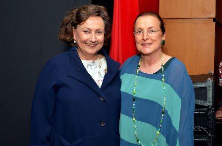 Dra. Margareth Dalcolmo e Tânia brandão
