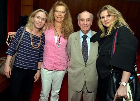 Isabel Mendes , Cecília Mendes de Almeida , Cândido Mendes e Andrea Mendes