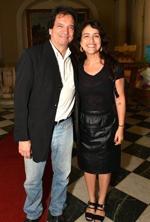 Luiz Alberto Oliveira e Manuela Dias