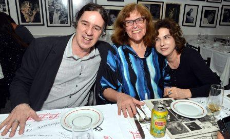 Geraldinho Carneiro , Rita Murtinho e Denise Bandeira