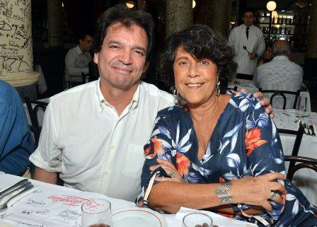 Luiz Alberto Oliveira e Eliana Caruso