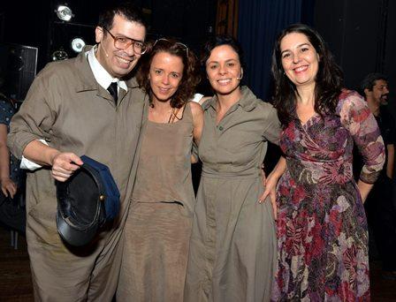 Marino Rocha , Dani Barros , Andrêas Gatto e Mina Quental