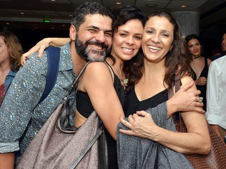 Lucas Gouvêa , Andrêas Gatto e Cyria Coentro