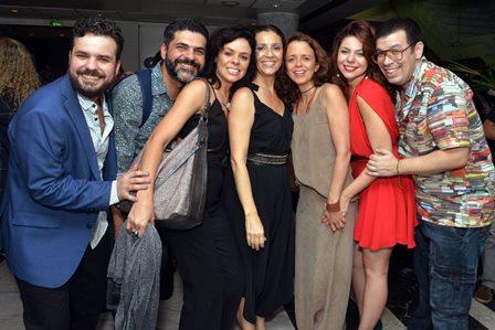 Luis Antonio Fortes ,  Lucas Gouvêa , Andrêas Gatto , Cyria Coentro , Dani Barros , Juliane Bodini e Marino Rocha