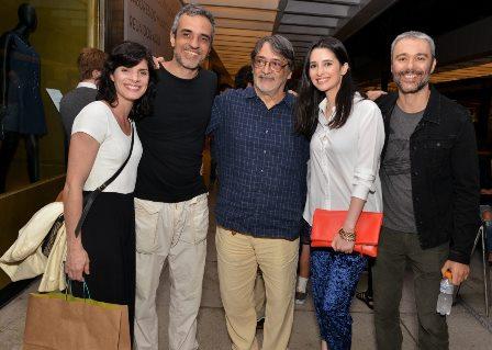 Isabel Guéron , Rodrigo Maranhão , Walter Lima Jr. , Anna Sophia Folch e Angelo Paes Leme