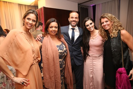 Daniela Oscar, Marcelle Medeiros, Fabio Daneto, Mary Ann, Bianca Salaberry