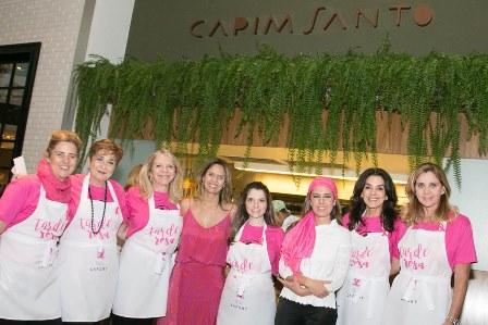 Daniela Oscar (fundação Laço Rosa) e Morena Leite entre as It Ladies do Eu+Set