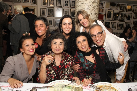 Familia de Ziraldo -Fabrizia,Paula,Regina, Paula e Rominho