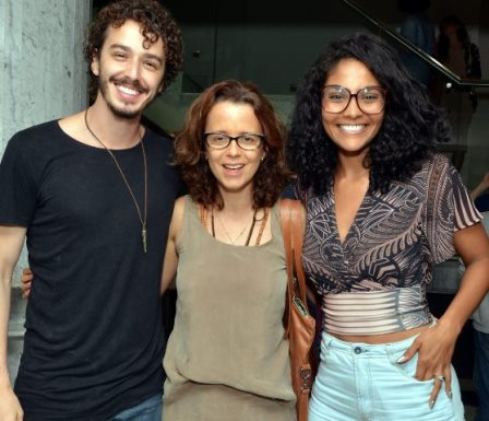 Gabriel Stauffer, Dani Barros e Bárbara Reis