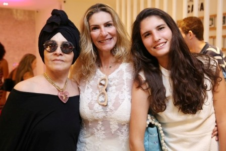 Iolanda Figueiredo, Rosana e Maria Raquel Braga