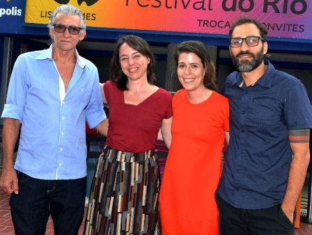 Jair Condor, Renata Terra, Mariana Oliva e Bruno Jorge