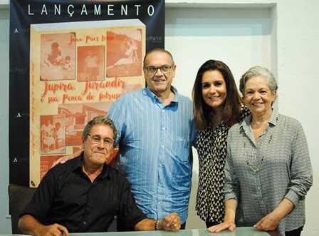 João Paes Leme, Paulo Libonati, Paula e Leda Paes Leme