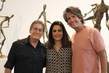 João e Paula Paes Leme e Rodrigo Saramago