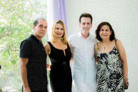 Josuel e Regina Cálita, Pitombo e Maria Aparecida Carneiro dos Santos Almeida