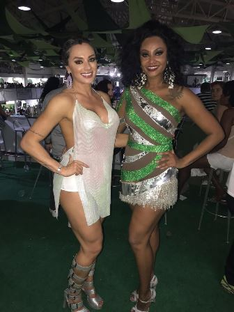 Juju Salimeni e Camila Silva