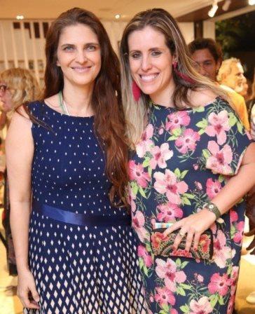 Kristie Hanbury e Bruna Barros