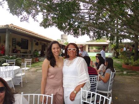 Lavinha com sua vovó Silvia Martins Mascarenhas