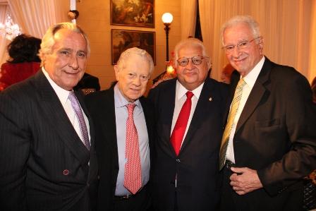 Leleco  Barbosa, Arnaldo Niskier, Serpa e Fred Padilha