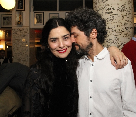 Leticia Sabatela e Fernando Alves Pinto