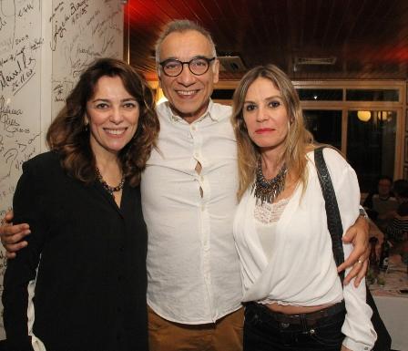 Marcia Pinto, Roninho e Martha Hirsch