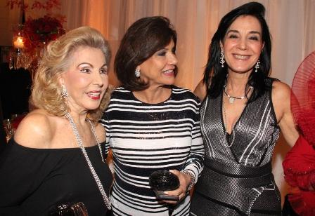 Mariza Coser, Ana Gontijo e Monica Clark