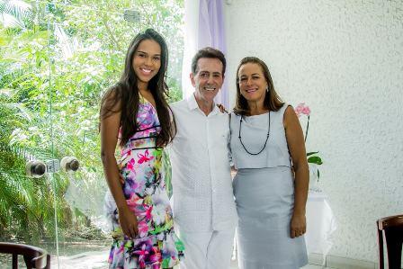 Miss Feira Corolina Lima, Pitombo e Tania Barreto