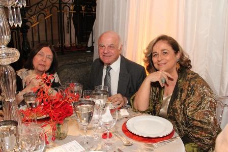 Nélida Pignon, Francis Bogossian e Hildegard Angel