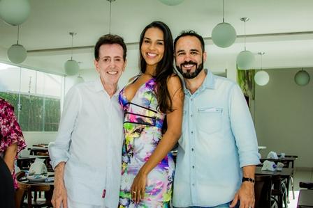 Pitombo, Carolina Lima e Diogo Carneiro