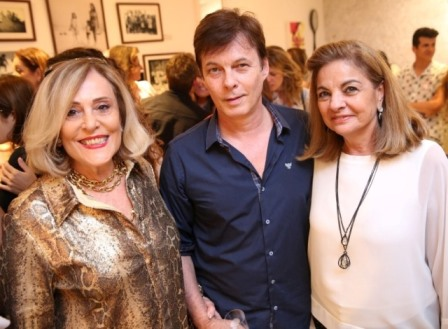 Regina Priolli, Luiz Fernando Priolli e Eloisa Marzola