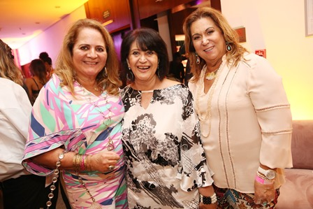 Renata Fraga, Micheline Tome e Theresa Macedo
