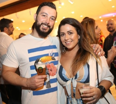 Renato Soares e Vanessa Melino