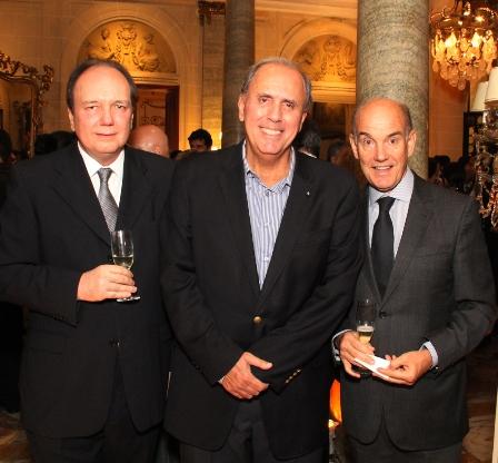 Ricardo Faria, Sergio Clark e Paulo Fraga