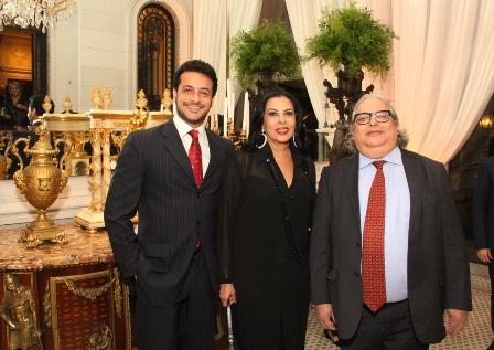Roberto Padula, Maria Luiza de Mendonça e Firly Nascimento