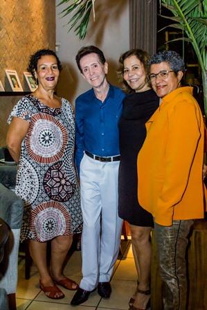 Rosalice Azevedo, Pitombo, Graça Falcão e Cristina Rosa