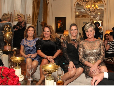 Ruth Niskier, Renata Fraga, Maninha Barbosa e Paula Almeuda