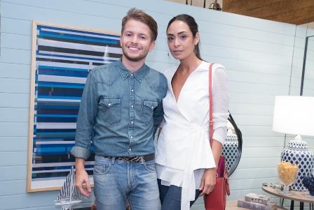 Victor Niskier e Karla Ortiz