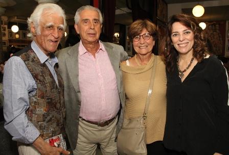 Ziraldo, Guilherme Rodrigues , Norma Parente e Marcia Pinto