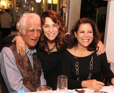 Ziraldo e Marcia Pinto e Iara Vinhas