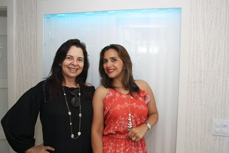 Jeanne Faria e Ana Teresa Patrão