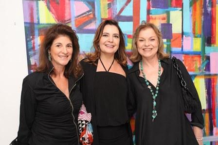 Cristina Pimentel, Alice Barbosa Lima e Laura Bonfá Burnier