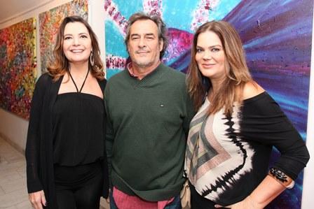 Alice Barbosa Lima, Jorge Barata e Flávia Curvello