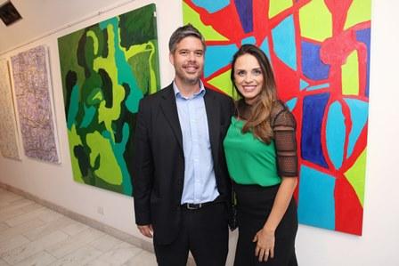 Claudio e Milena Vieira