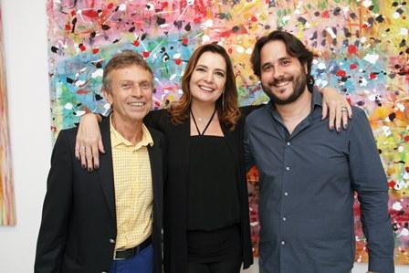 Marco Rodrigues, Alice Barbosa Lima e Horacio Ernani
